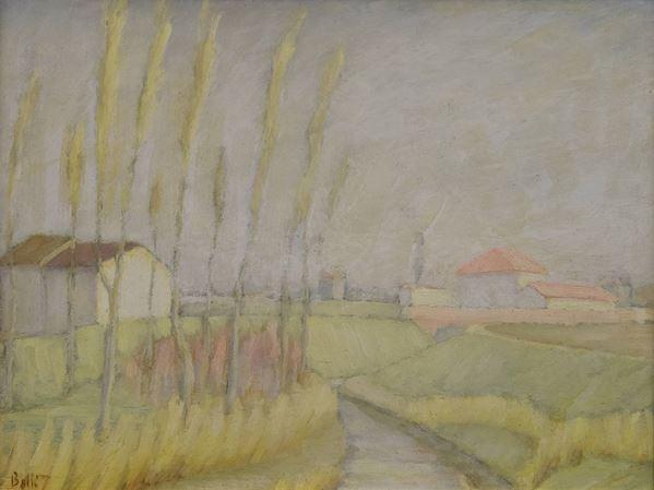 Augusto Betti - Veduta faentina