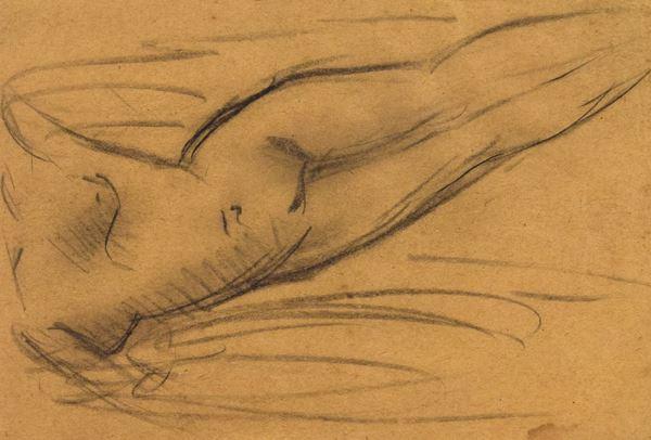 Emilio Casadio - Nudo femminile