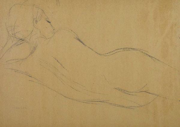 Giuseppe Tampieri - Nudo femminile