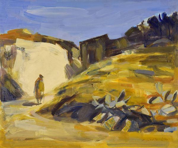 Giuseppe Tampieri - Paesaggio spagnolo