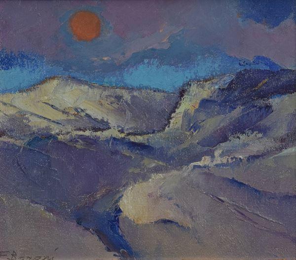 Felice  Baroni - Paesaggio
