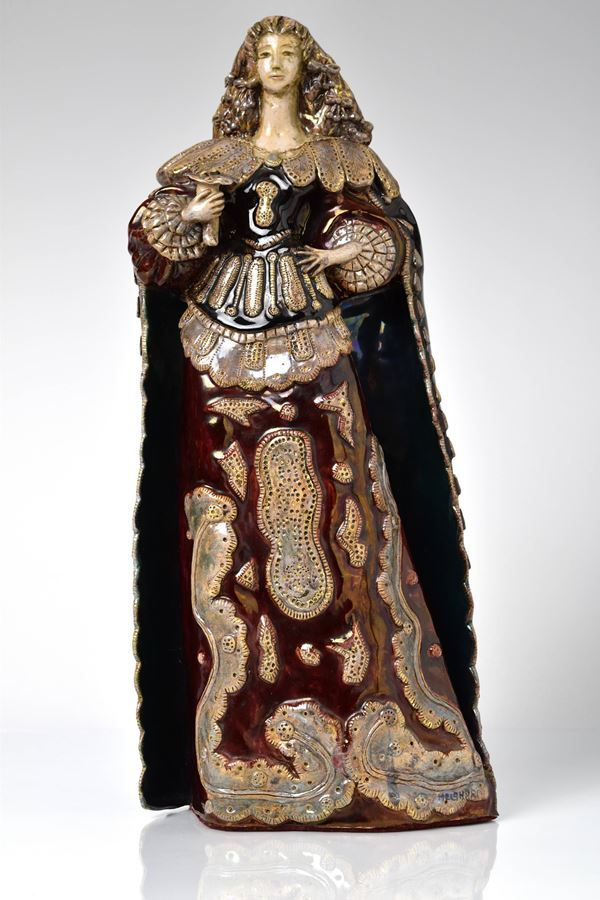 Pietro  Melandri - Fanciulla in costume regionale