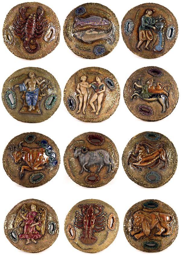 Pietro  Melandri - I 12 segni zodiacali