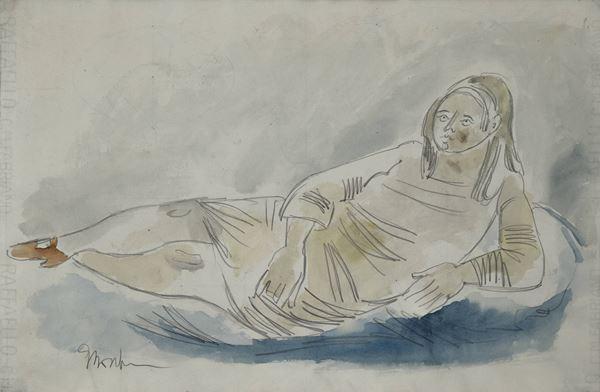 Gianna Boschi - Figura stesa