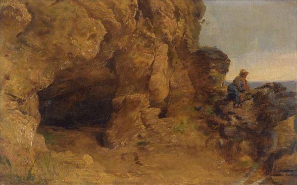 Antonio Berti - La grotta di Cepparano