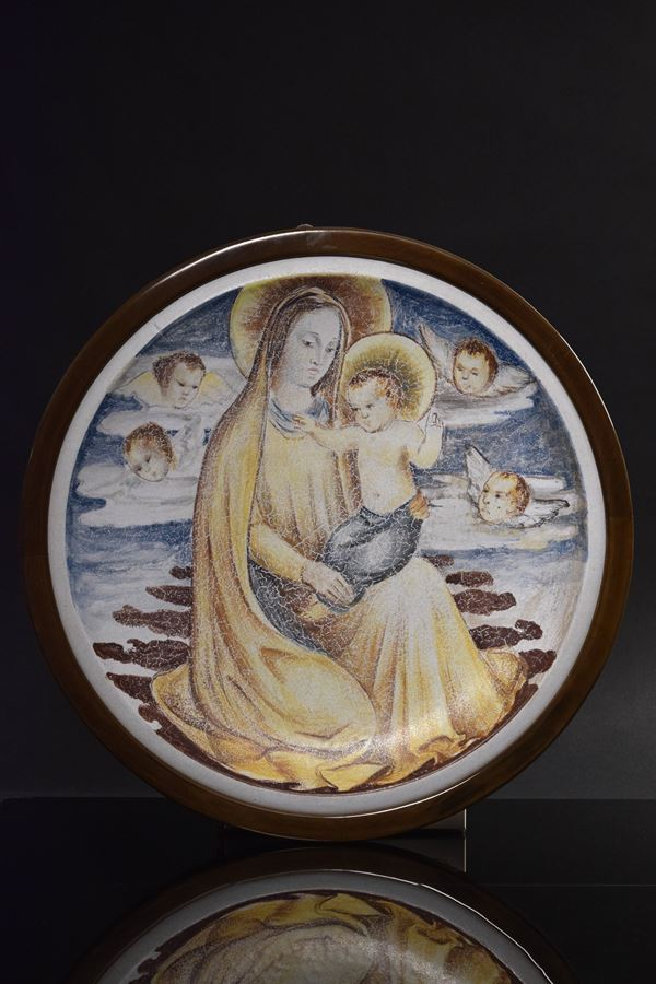 Antonio Gordini - Madonna con bambino