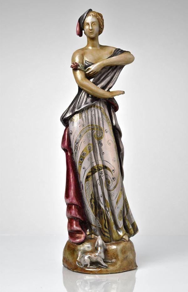 Pietro  Melandri - Donna del cappellino