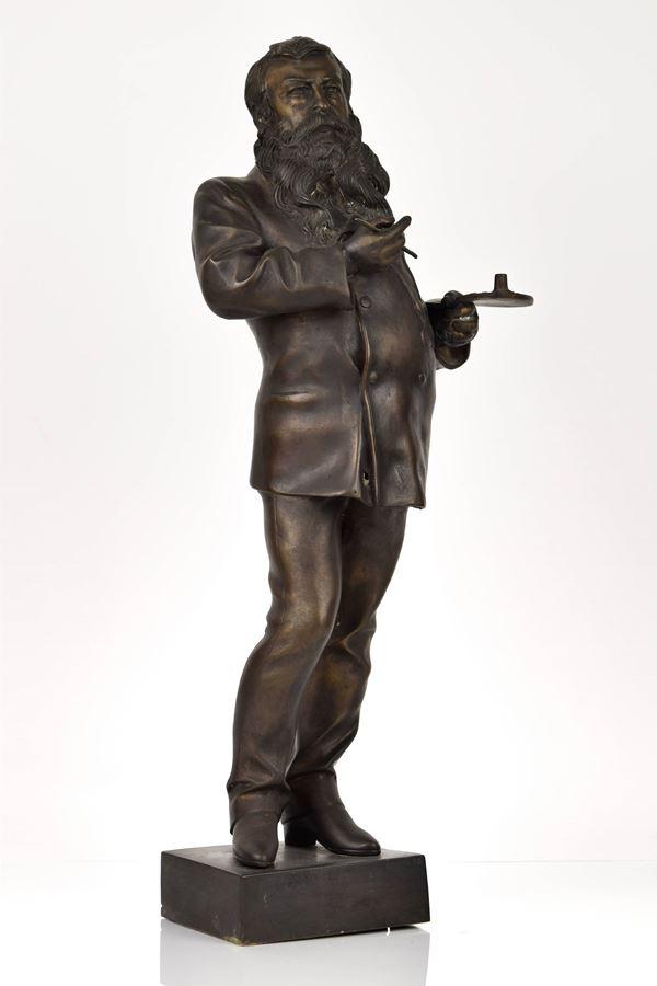 Fonderia Artistica Gemito - Bronzo raffigurante il pittore Messonier