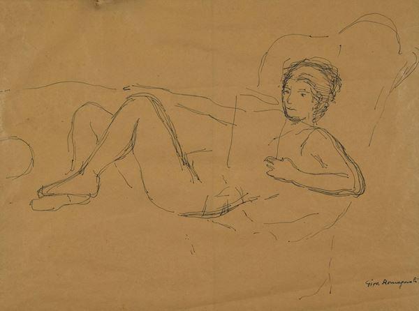 Giovanni Romagnoli - Figura stesa