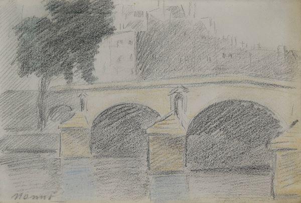 Francesco Nonni - Ponte sulla Senna a Parigi