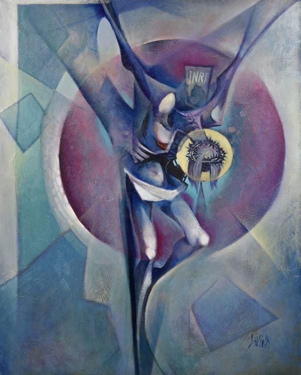 Sergio Saviotti - Il Cristo nello Spazio