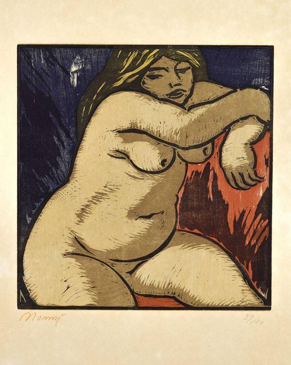 Francesco Nonni - Nudo di donna