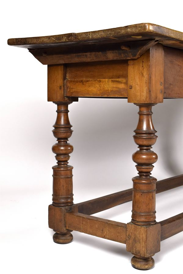 Tavolo rocchetto, Emilia, XVII secolo