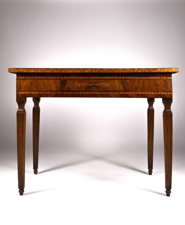 Tavolo da gioco, Emilia, fine XVIII inizio XIX secolo